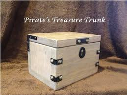 ana white pirate u0027s treasure trunk diy projects