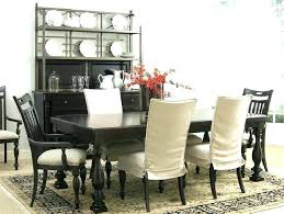 Dining Room Chair Protectors Covers Black And White Slipcovers Also