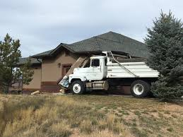 100 House Trucks Dump Truck Crashes Into House South Of Glenwood Springs The Denver