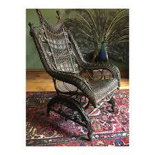 HIGH-BACK VICTORIAN WICKER PLATFORM ROCKING CHAIR Heywood Wakefield Real  Antique Woodys Antiques Specializing In Original Heywood Wakefield Details About Heywood Wakefield Solid Maple Colonial Style Ding Side Chair 42111 W Cinn Antique Rattan Wicker Barbados Mahogany Rocking With And 50 Similar What Is Resin Allweather Fniture Childrens Rocker By 34 Vintage Chairs By Paine Rare Heywoodwakefield At 1stdibs Set Of Brace Back School American Craftsman Childs Slat Bamboo Pretzel Arm Califasia
