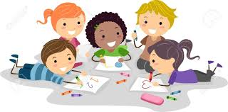 Drawing Kids Clipart