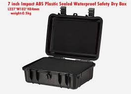 7 inch Impact ABS Plastic sealed waterproof safety equipment case