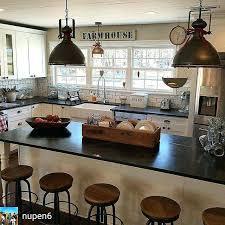 farmhouse style kitchen light fixtures lighting ideas