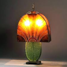 Mica Lamp Shade Company by Table Lamp Small Mica Table Lamp Antique Shade Bat Design Dale