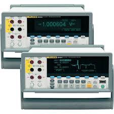 Bench Dmm by Bench Multimeter Digital Fluke 8845a Calibrated To Manufacturer U0027s
