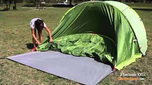 tente 4 places 2 chambres seconds family 4 2 xl quechua quechua 2 seconds pop up tent