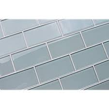 sle color swatch of jasper blue gray 3x6 glass subway tiles for