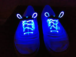 blue light up shoelaces festival trading co