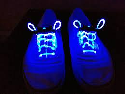 blue light up shoelaces festival trading co
