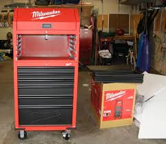 Kobalt Tool Cabinet With Radio by Review Milwaukee 30 U2033 12 Drawer Tool Chest And Rolling Cabinet Combo