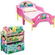 dora the explorer canopy toddler bed delta toys r us