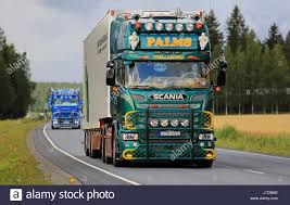 URJALA, FINLAND - AUGUST 11, 2016: Green Scania V8 Of K.E.Palms ... The Best Business Funding For Trucking Companies First American On The Road I5 Lebec To Los Banos Ca Pt 5 Green Trucking Company Goes Purple With Recycled Water Local Customers Stokes Trucking Drivers Outlook Englishtown Truck Show 2016 Youtube J Greens Most Teresting Flickr Photos Picssr Bring Movie 2014 A Freight Container Back Of Flatbed Tractor Commercial Transportation Nuenergy Sweater Its A Way Of Life Design Sloganitecom