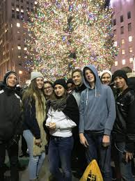 Stew Leonards Christmas Trees by Youth Group Nyc Trip