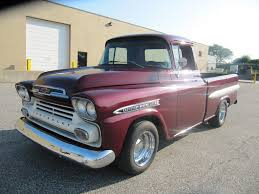 1959 Used Chevrolet Apache Fleetside At WeBe Autos Serving Long ... Tci Eeering 51959 Chevy Truck Suspension 4link Leaf Customer Gallery 1955 To 1959 Trucks History 1918 Chevrolet Apache 3100 Stock 139365 For Sale Near Columbus Oh Retyrd Photo Image Classic Cars Sale Michigan Muscle Old Amazoncom Custom Autosound Stereo Compatible With 1949 Chevygmc Pickup Brothers Parts 4x4 Rust Free Panel Very Cool Project Gmc Rat Rod 1958 Shortbed Stepsides Only Pinterest Chevy Chevrolet Station Wagon Rare 164 Scale Diorama Diecast One Fine 59