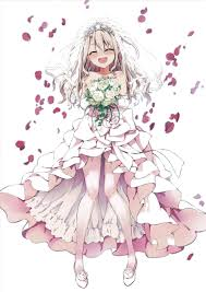 Anime Wedding Dress Design Girls Drawings Story Sketches My Writings Pics And Whatever Miki In A Resistance Is Futile Idolm