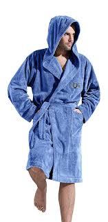 robe de chambre homme chaude pour hommes chaud et doux luxe tissu eponge peignoir de bain