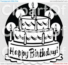 Royalty · birthday clipart black · Birthday cake clipart black and white