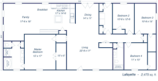 Home House Plans by Metal 40x60 Homes Floor Plans Our Steel Home Floor Plans Click