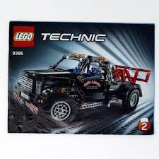 100 Used Tow Trucks Set 9395 Technic PickUp Truck Bricks Minifigs