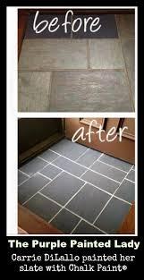 laying slate tile linoleum best 25 paint linoleum ideas on painting linoleum