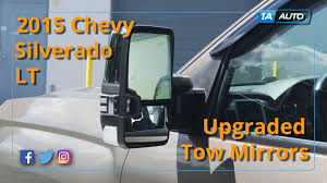 How To Install Upgraded Tow Mirrors 2015 Chevy Silverado LT - YouTube Best Towing Mirrors 2018 Hitch Review Side View Manual Stainless Steel Pair Set For Ford Fseries 19992007 F350 Super Duty Mirror Upgrade How To Replace A 1318 Ram Truck Power Folding Package Infotainmentcom 0809 Hummer H2 Suv Pickup Of 1317 Ram 1500 2500 Passengers Custom Aftermarket Accsories Install Upgraded Tow 2015 Chevy Silverado Lt Youtube