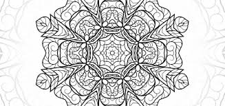 Stacy Mandala Flower Detailed Coloring Pages Printable File
