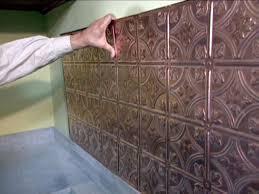 Copper Tiles For Backsplash by Copper Backsplash For Kitchen
