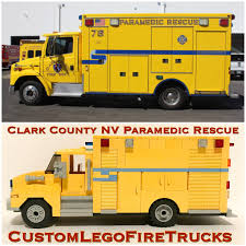 100 Custom Truck Las Vegas 124 Scale Clark County NV Freightliner Paramedic Etsy