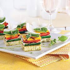 recette canape canapés de légumes et tofu grillés recettes cuisine et