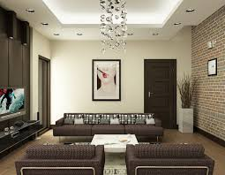 Brown Couch Living Room Ideas by Living Room Open Space Living Room With All White Wall And