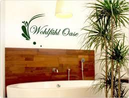 wandtattoo spruch wohlfühl oase badezimmer wanddeko