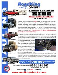 3/4 & 1 Ton Truck Shocks - RoadKing Shocks LLC 2015 Ford F150 27l Ecoboost Vs Dodge Ram 1500 Ecodiesel Video Truck Trends 2018 Pickup Of The Year Day 2 Towing One Ton Grip 1ton Van Allnew 2019 More Space Storage Technology 15 Trucks That Changed World Gas Diesel Past Present And Future Hammer Lighting Truck Shdown We Compare V6 12tons 2017 Chevy Hd Super Duty Ike Gauntlet Review Chevrolet Silverado Big Three 23500 Challenge Fuel Economy Dyno