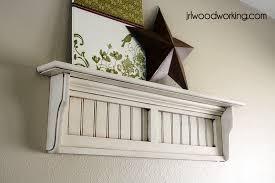 free beadboard wall shelf plans woodwork city free woodworking plans