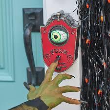 Motion Sensor Halloween Decorations by Animated Eyeball Doorbell Halloween Decoration Improvements Catalog