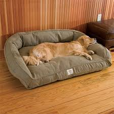 dog couch bed toughchew deep dish dog bed orvis