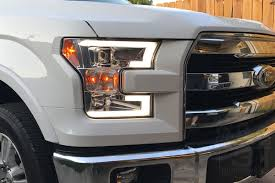2015-2017 F150 Spyder LED Light Bar Projector Headlights (Chrome ... Stedi 7 Inch Carbon Led Headlight Motorbike Truck Jeep Wrangler Crystal Clear 5x7 7x6 H1426054 Highlow Beam 19992018 F150 Diode Dynamics Fog Lights Fgled34h10 Led Around Headlights For Trucks Lllspg9006 9006 Headlight Bulbs With Blue Glow Light Lifetime Alburque Accsories Unlimited Inch Led Truck 6x7 Oracle 1416 Chevrolet Silverado Wpro Halo Rings Bulbs Boise Car Audio Stereo Installation Diesel And Gas Performance Automotive Bars Strips Halos Custom Light Kits