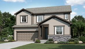 Hopewell floor plan at Mail Creek Crossing