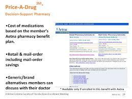 aetna pharmacy management help desk children s home society of florida ppt