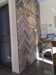 Herringbone Pallet Wood Wall