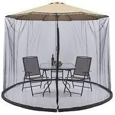 Image Is Loading Outdoor Garden Umbrella Table Screen Parasol Mosquito Net