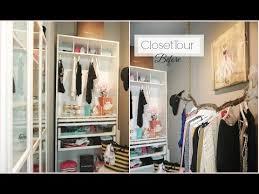 Closet Tour Before