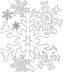 Christmas Snowflakes Everywhere Coloring Page