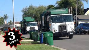 100 Waste Management Garbage Truck S Lake Forest CA YouTube