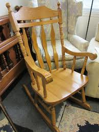 Solid Oak Heavy Duty Rocker / Rocking Chair | Ryan's Relics Solid Peroba De Rosa Heavy Wood Rocking Chair Fniture Fascating Amish Chairs With Interesting Bz Kd20n Classic Wooden Childs Porch Rocker Natural Oak Ages 37 Lovely American Vintage Oak Antique Dexter Ash Duty Used For Sale Chairish Bent Style Jack Post Childrens Patio Of America Oria Brown Hardwood Michigan State