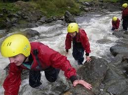 Gorge by Gorge Walking Or Gorge Scrambling In The Lake District Joint