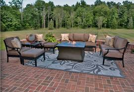 Gensun Patio Furniture Dealers by The Moncler Collection 8 Piece All Welded Cast Aluminum Patio