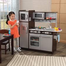 Uptown Espresso Play Kitchent By Costco Set Kitchen Cool Kidkraft