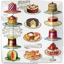 Drawn cake dessert 1