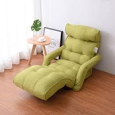 boden faltbare chaise lounge stuhl grün einstellbare liege wohnzimmer möbel japanischen stil daybed sleeper sofa sessel