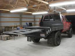Slap A Hing On That To Load A Four Wheeler & Add A Dog Box..... What ...